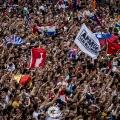 16.07.2016. - Ultra Europe / Stadion Poljud (Split)
